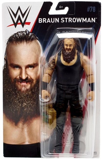 WWE Wrestling Series 78 Braun Strowman Action Figure [Money in the Bank]