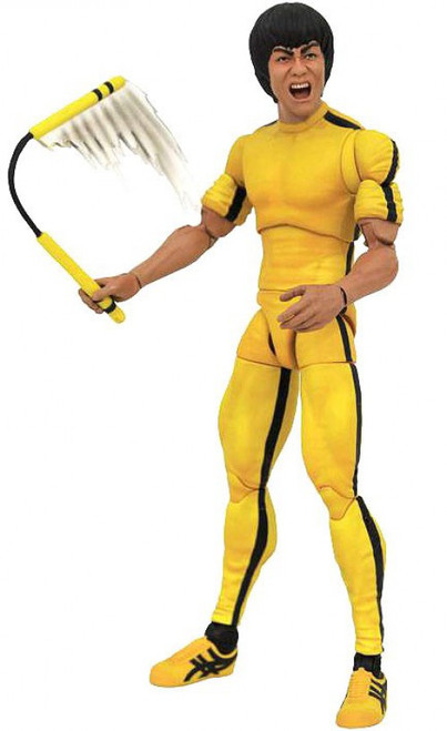 Game of Death Bruce Lee Select Bruce Lee Action Figure [Yellow Jumpsuit]