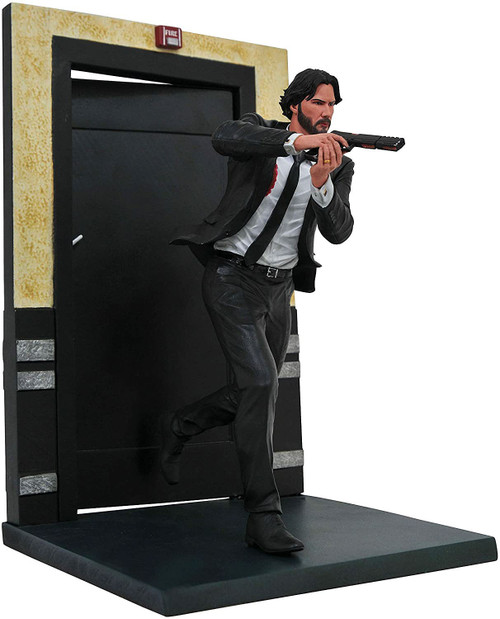 Movie Gallery John Wick 9-Inch PVC Figure Statue [Running]