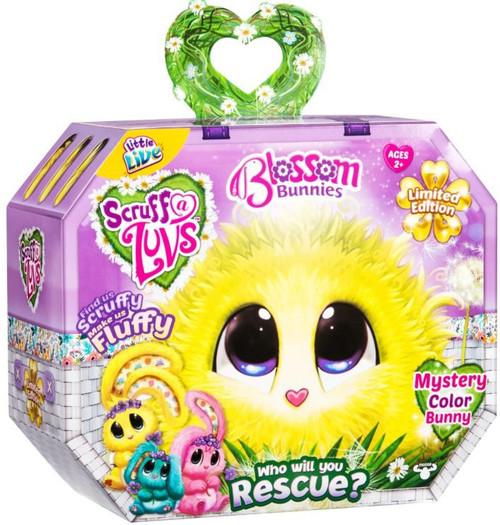 Little Live Pets Scruff A Luvs Blossom Bunnies Plush Surprise Rescue Pet [1 RANDOM COLOR BUNNY!]