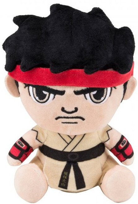 Street Fighter Stubbins Ryu 6-Inch Plush