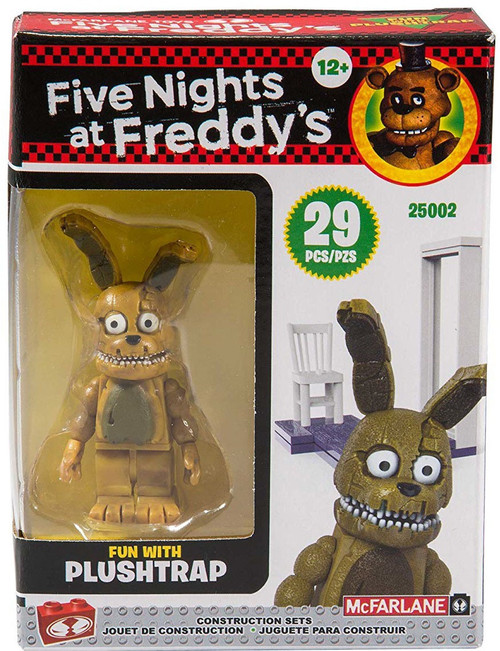 McFarlane Toys Five Nights at Freddy's Fun with Plushtrap Build Set