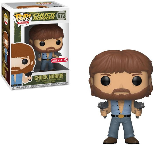 Funko POP! Movies Chuck Norris Exclusive Vinyl Figure #673