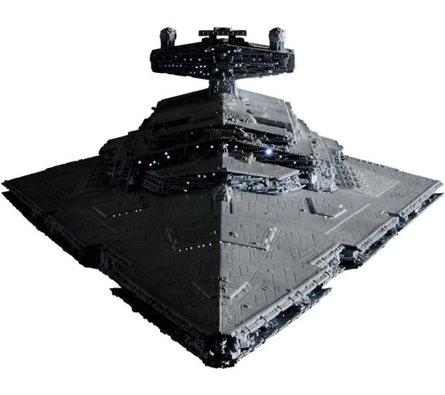 Star Wars Star Destroyer 1/5000 Plastic Model Kit [First Production Limited Version Lighting Model]