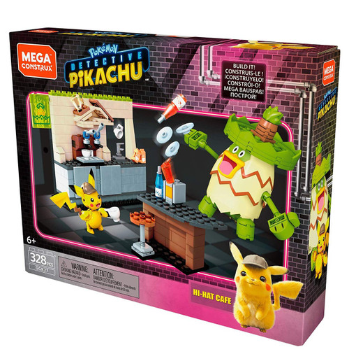 Pokemon Detective Pikachu Hi-Hat Cafe Set