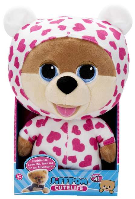 Cutelife Jiffpom Pajama Party Plush