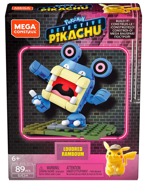 Pokemon Detective Pikachu Loudred Set
