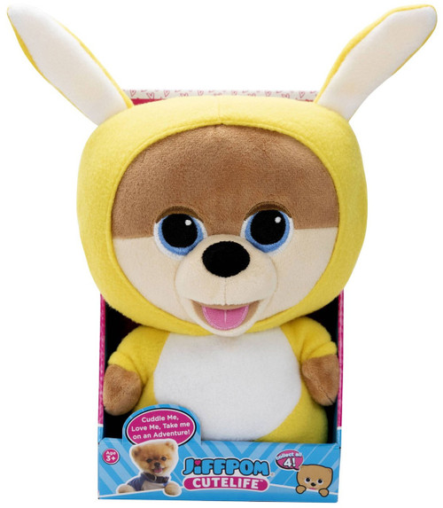 Cutelife Jiffpom Bunny Plush