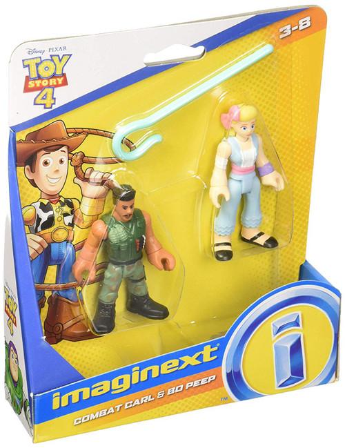 Fisher Price Disney / Pixar Imaginext Toy Story 4 Combat Carl & Bo Peep Figure Set