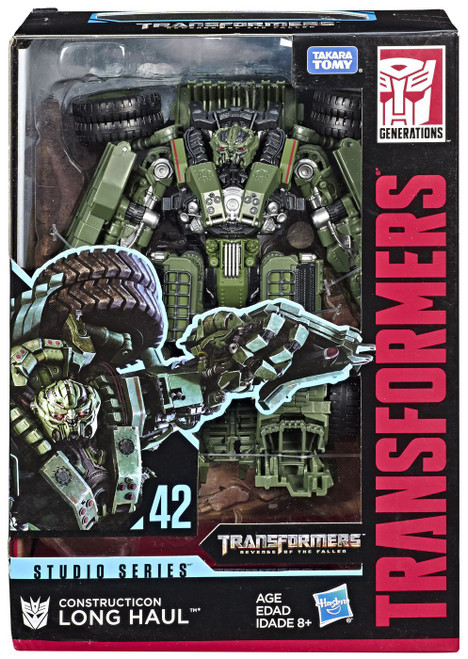 Transformers Generations Studio Series Long Haul Voyager Action Figure #42 [Revenge of the Fallen]