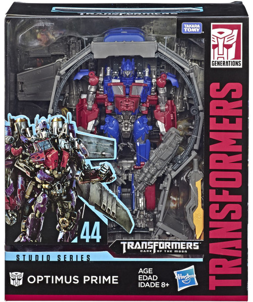 Transformers Generations Dark of the Moon Studio Series Optimus Prime Leader Action Figure #44 [Dark of the Moon]