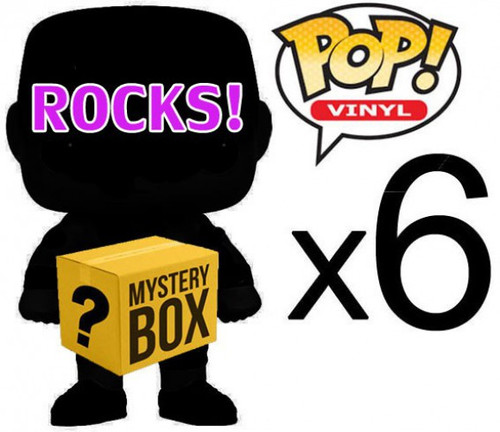 Funko ROCKS! MYSTERY BOX LOT of 6 Funko POP! Vinyl Figures [Completely RANDOM, No Duplicates Per Box!]