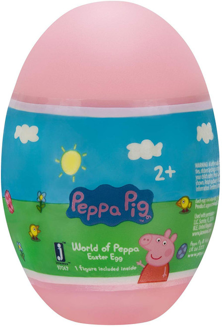 Peppa Pig World of Peppa Easter Egg Mystery Pack [1 RANDOM Figure]