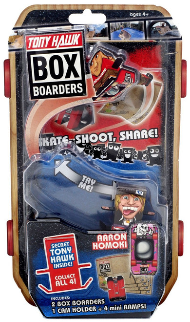 Tony Hawk Box Boarders Aaron Homoki Figure