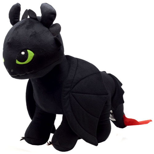 How to Train Your Dragon The Hidden World Toothless 17-Inch Plush Pillow