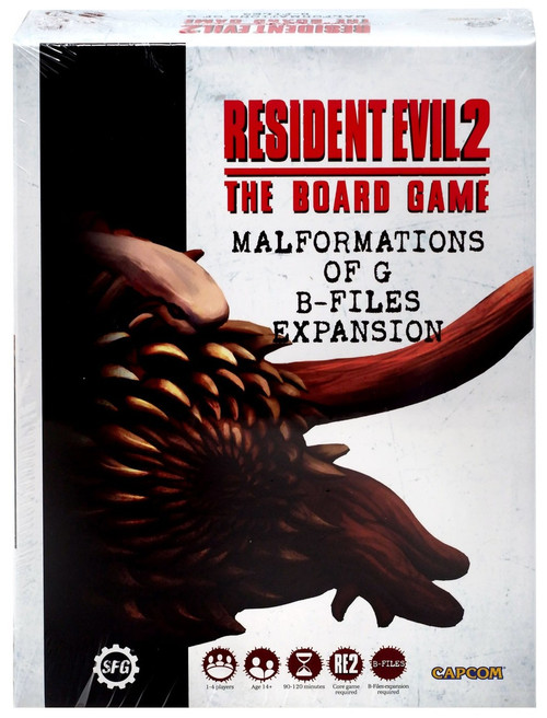 Resident Evil 2 Malformations of G: B-Files Board Game Expansion