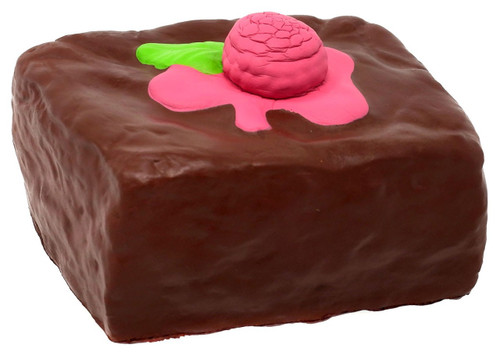 Soft'N Slow Squishies Series 1 Sweet Shop Raspberry Brownie 3.5-Inch Squeeze Toy