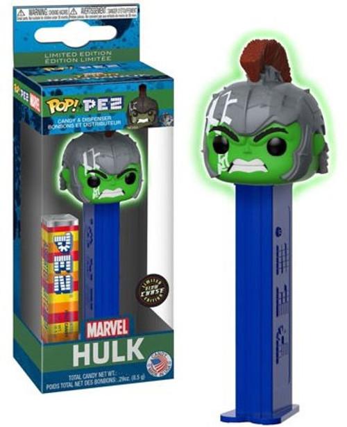 Funko Marvel POP! PEZ Hulk Candy Dispenser [Glow-in-the-Dark, Chase Version, Version 2]