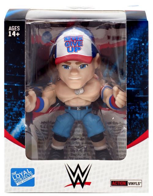 WWE Wrestling Action Vinyls John Cena Vinyl Figure
