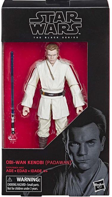 Star Wars The Phantom Menace Black Series 32 Obi-Wan Kenobi Action Figure [Padawan]