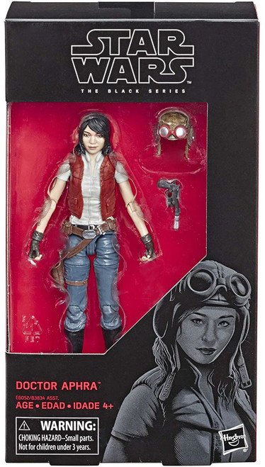 Star Wars Expanded Universe Black Series 32 Doctor Aphra Action Figure [Comic]