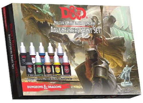 Dungeons & Dragons Nolzur's Marvelous Pigments Adventurers Paint Set