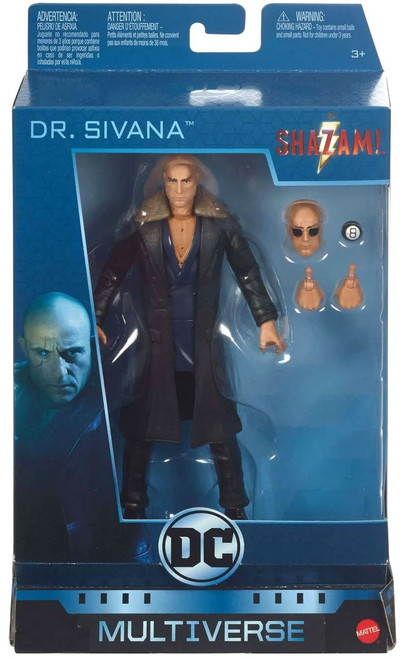 DC Shazam Movie Multiverse Sivana Action Figure