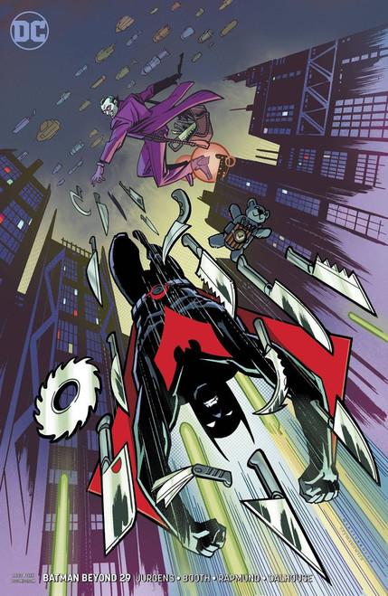 DC Batman Beyond #29 Comic Book [Martinbrough Variant Cover]