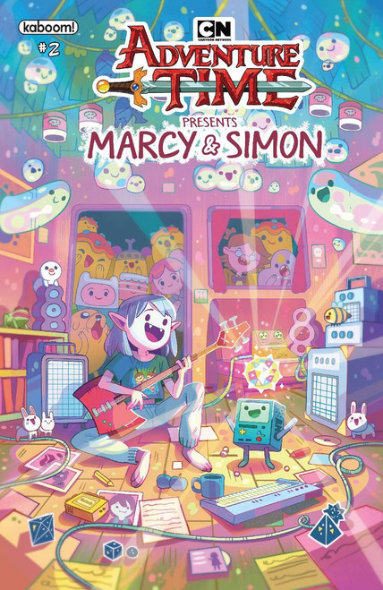 KaBOOM! Adventure Time Marcy & Simon #2 Comic Book [Ray Tonga Marcy Variant Cover]