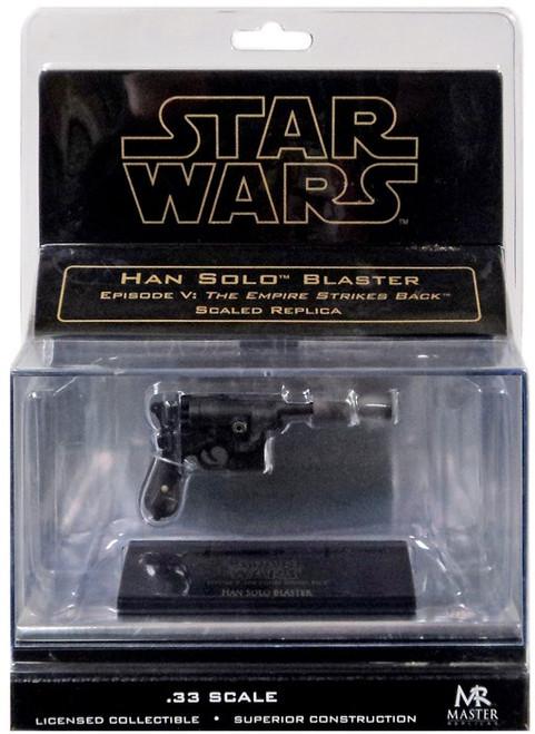 Star Wars The Empire Strikes Back Han Solo's Blaster Pistol .33 Prop Replica