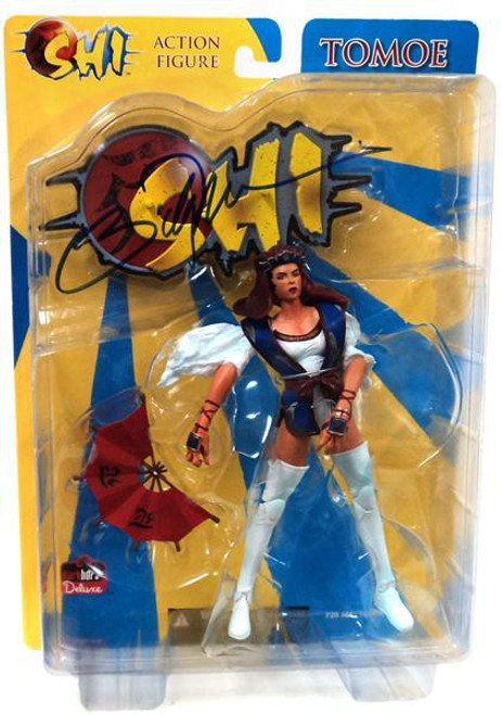 Shi Tomoe Action Figure [Signed by Billy Tucci]