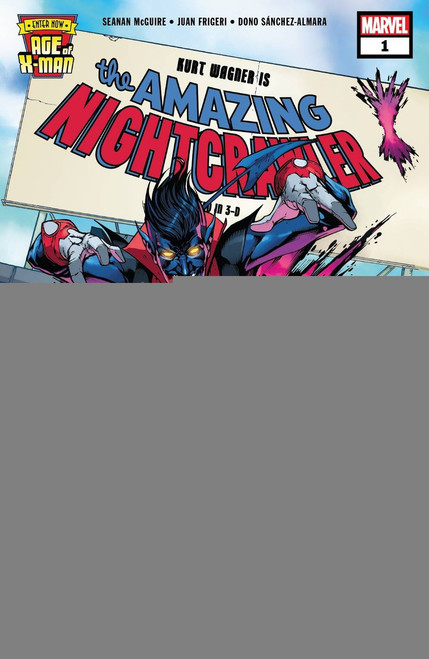 Marvel Comics Age of X-Men: The Amazing Nightcrawler #1 Comic Book
