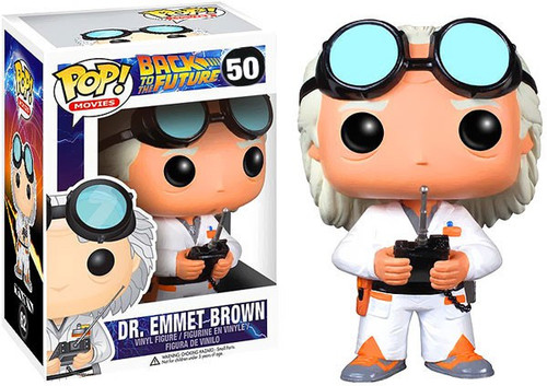Funko Back to the Future POP! Movies Dr. Emmet Brown Vinyl Figure #62 [Damaged Package]