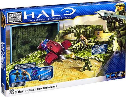 Mega Bloks Halo Battlescape II Set #96983 [Damaged Package]