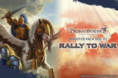 Dragoborne Rise to Supremacy Rally to War Booster Pack [8 Cards]