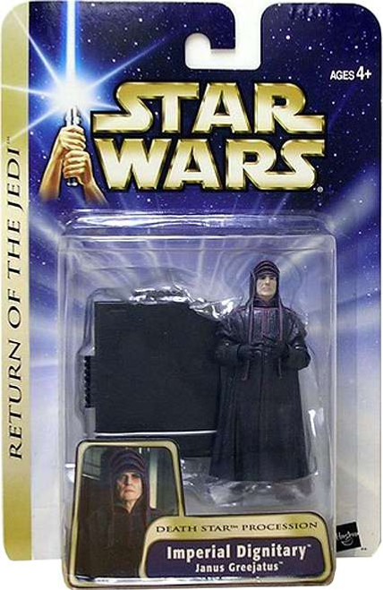 Star Wars Revenge of the Sith Imperial Dignitary Action Figure [Janus Greejatus, Damaged Package]