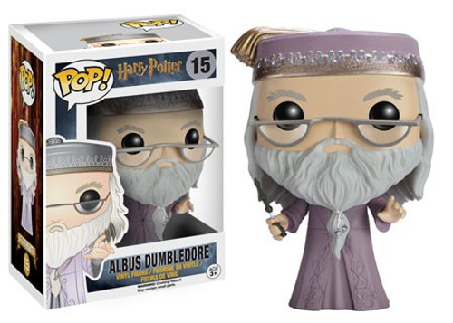 Funko Harry Potter POP! Movies Albus Dumbledore Vinyl Figure #15 [Purple Robe, Damaged Package]