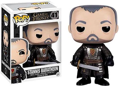Funko Game of Thrones POP! TV Stannis Baratheon Vinyl Figure #41 [Damaged Package]