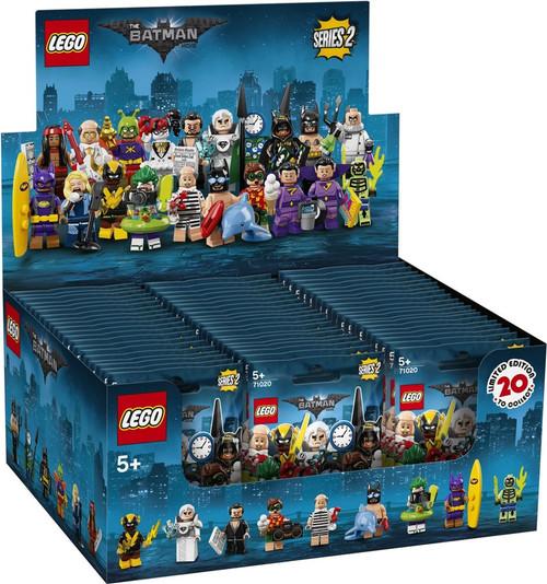 LEGO Minifigures Series 2 The Batman Movie Mystery Box [60 Packs]