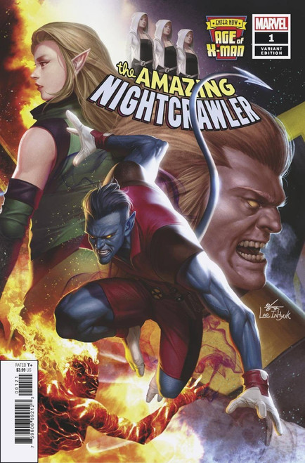 Marvel Comics Age of X-Men: The Amazing Nightcrawler #1 Comic Book [Inhyuk Lee Connecting Variant]