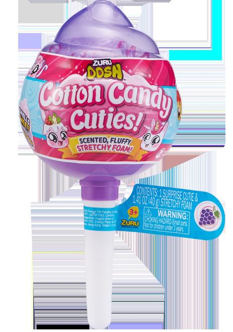 Oosh Cotton Candy Cuties Stretchy Foam Series 1 MEDIUM Pop PURPLE Mystery Pack