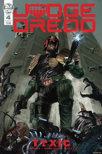 IDW Judge Dredd Toxic #4 Comic Book [John Gallager Cover B Variant]