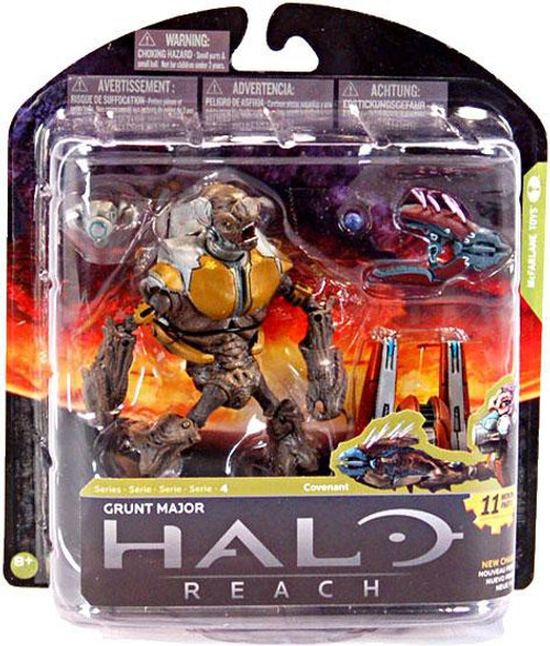 McFarlane Toys Halo Reach Series 4 Grunt Major Action Figure [Damaged Package]