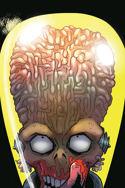 Dynamite Entertainment Mars Attacks #5 Comic Book [Anthony Marques Virgin Cover]