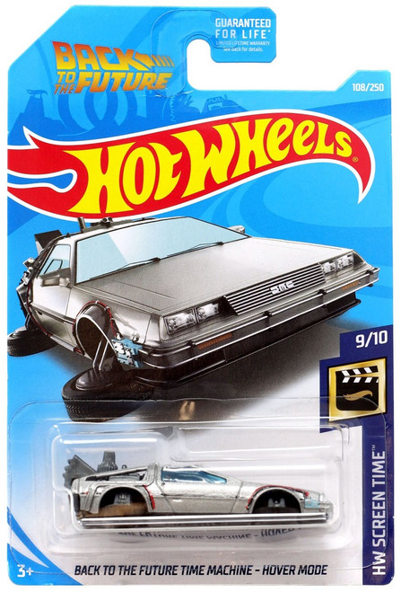 Hot Wheels Back to the Future HW Screen Time Time Machine - Hover Mode Die-Cast Car #9/10