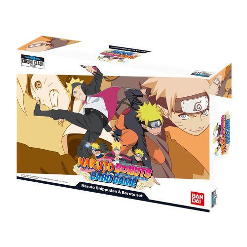 Naruto Boruto Naruto Shippuden & Boruto Set Card Game
