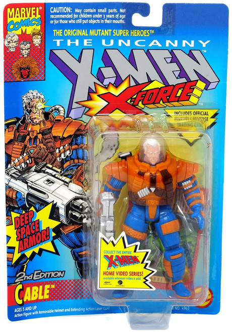 Marvel The Uncanny X-Men X-Force Cable Action Figure [2nd Edition, Deep Space Armor] [Moderate shelf wear]