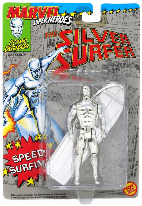 Marvel Cosmic Defenders Super Heroes The Silver Surfer Action Figure [Speed Surfin]