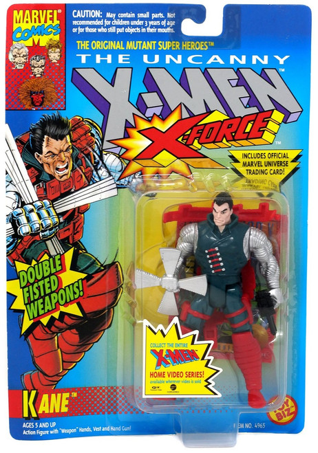 Marvel The Uncanny X-Men X-Force Kane Action Figure [Double fisted Weapons!] [Moderate shelf wear]