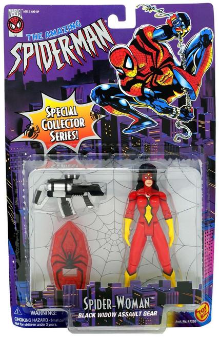 The Amazing Spider-Man Spider-Woman Action Figure [Black Widow Assault Gear]